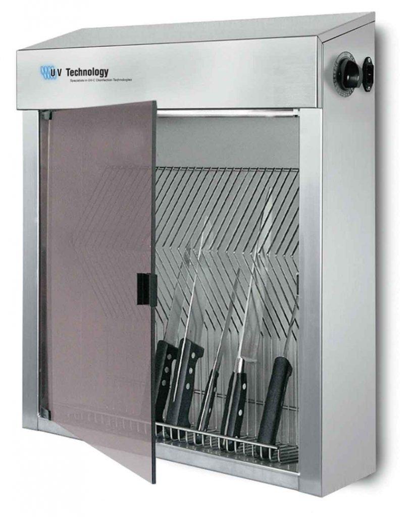 Safe Blade UV-C knife disinfection cabinet