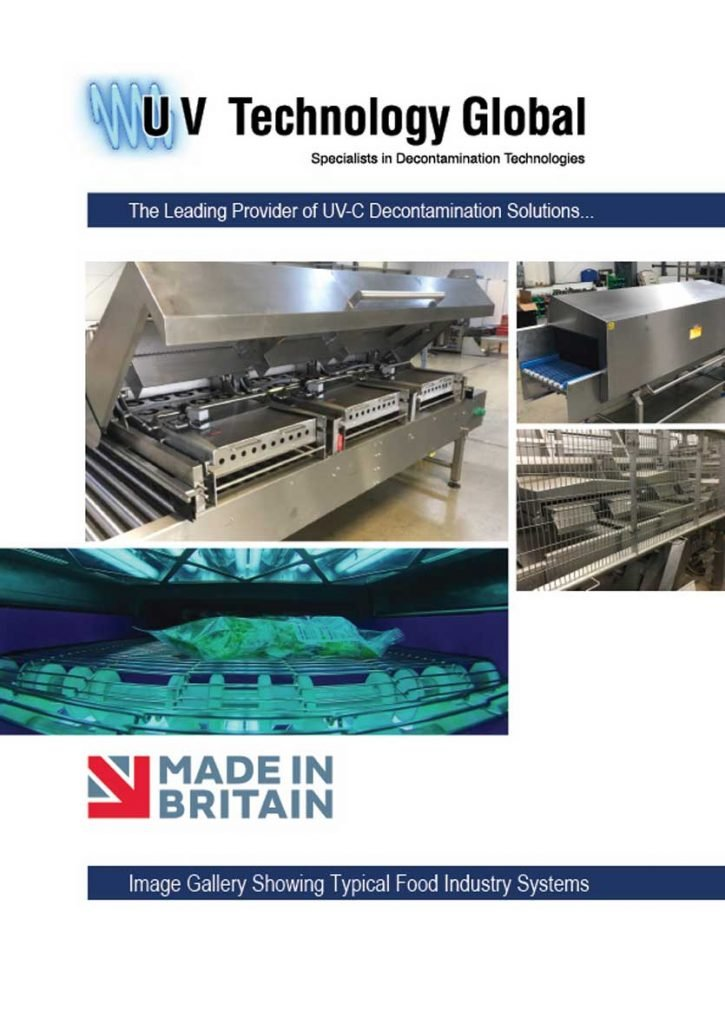 UV Technology Mmachine Images brochure