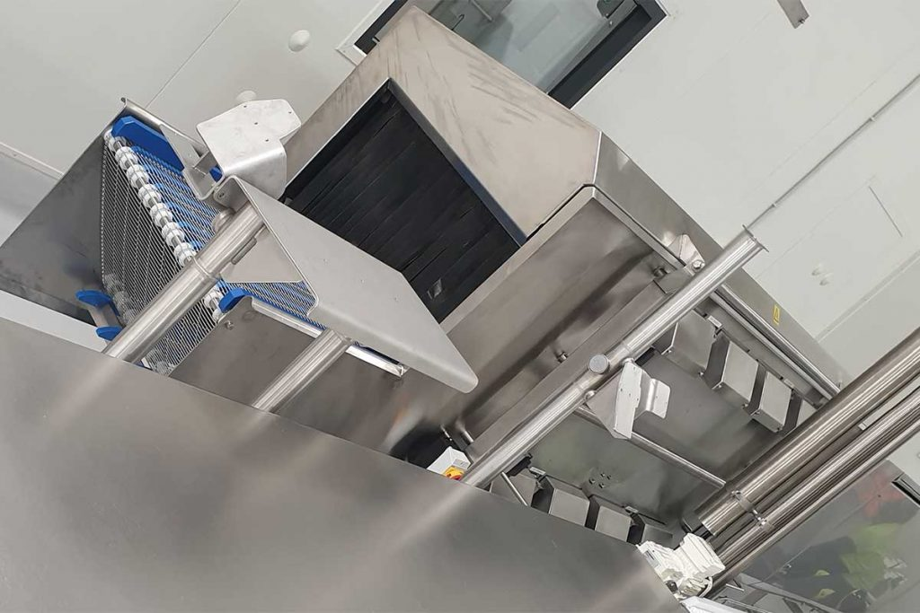packaging and baggage UV-C disinfection tunnel