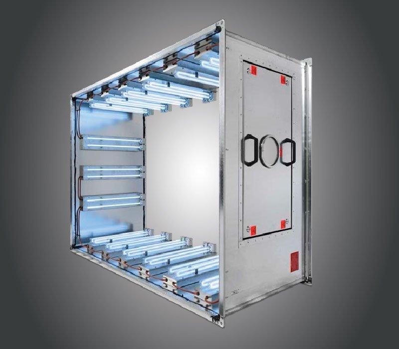 airstream uv-c air disinfection duct unit