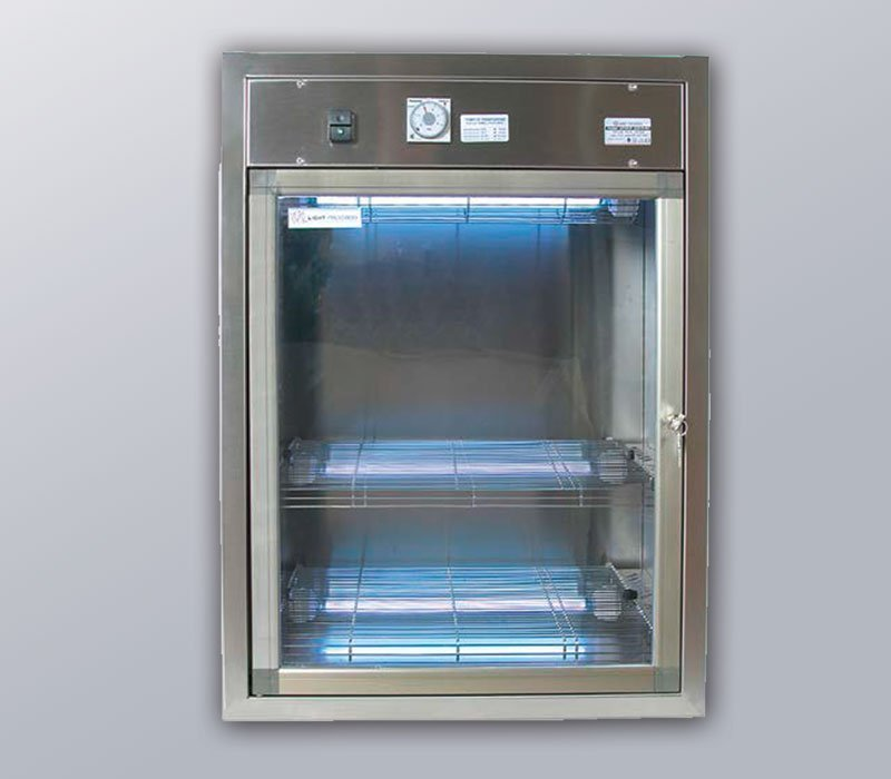 UVT Boxx UV-C decontamination cabinet