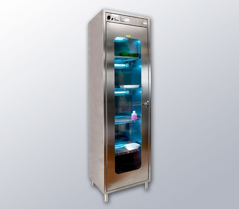 UV-C disinfection cabinet